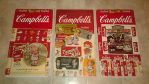 3 steel Campbell's soup trays must see