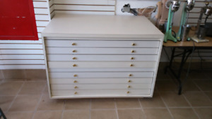 Flat file cabinet buy and sell furniture in ontario kijiji blueprint drawers artists drawers flat file cabinet malvernweather Gallery
