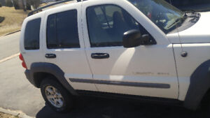 2002 Jeep Liberty SUV, IN EXCELLENT SHAPE, UNDERCOATED