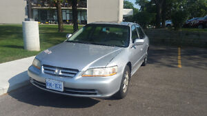 2002 Honda Accord EX With a Valid Etest