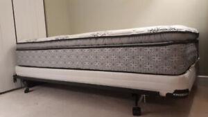 Single Bed (Mattress + Box-spring + Bed frame)