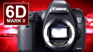 BRAND NEW CANON EOS 6D MARK II WITH 24-105MM LENS KIT