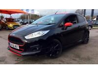 2016 Ford Fiesta 1.0 EcoBoost 140 Zetec S Black Manual Petrol Hatchback