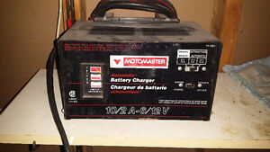 Motormaster battery charger