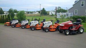 MTD PREMIUM BRAND LAWN TRACTORS, ZERO TURNS-have arrived!!!