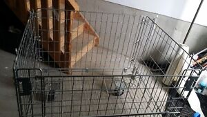 Steel Holding Bin/Cage - an option for smaller pets or puppies
