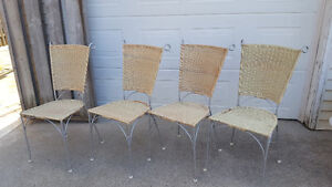 4 wicker chairs London Ontario image 2