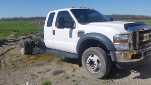 2009 ford f550 cab and chassis