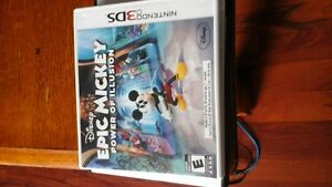 Disney EPIC MICKEY, POWER OF ILLUSION 3DS