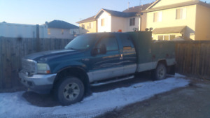 2002 Ford F350 service truck