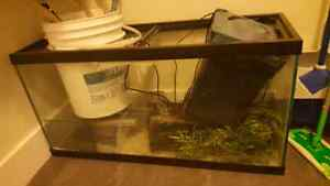 Fish tank and supplies needs to go!!