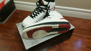 lightly used air jordan chicago 2 from 2004 in size 11 OG box