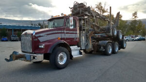 2004 Kenworth T800 Self Loader Log Truck