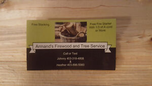 Armands Firewood. SALES ON NOW!!!