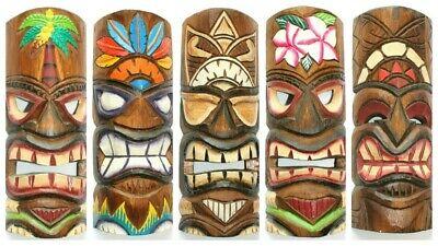 Tiki Maske 30 cm Hawaii Maui Style Bar Party Südsee Wandmaske Wandbrett ' (Tiki Bar Dekoration Party)