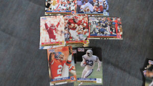 1991 ProSet 1990 NFL Leader cards(11)