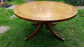 Quality Georgian Style Coffee Table