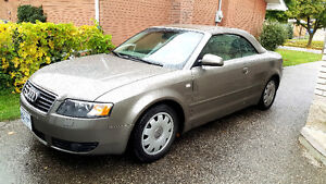 2003 Audi A4 Cabriolet 3.0 S-Line Convertible Coupe