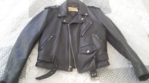 70's Schott Perfecto ''Ramones'' Leather Jacket - size 40