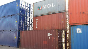 Used 20 40 and 45 foot Sea Containers