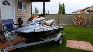 2009 Sea-doo RXP-X 255 W/ EZ Loader Trailer