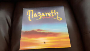 NAZARETH GREATEST HITS ORIG PRESS VINYL ! MINTY !