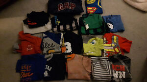 Boys size 3 clothes and a few size 4s