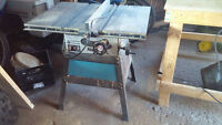 """Rockwell 9"""" Table saw"""