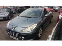 2006 06 PEUGEOT 307 CC 1.6 16V S CONVERTIBLE.ANY PX WELCOME.12 MONTHS MOT.S/HIST