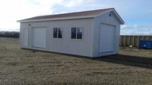 garages/cabins/sheds