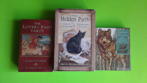 Tarot Decks & Oracle Cards (Lover's Wiccan Animal Themes)