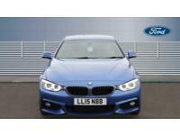 2015 BMW 4 Series 420d [190] M Sport 2dr Auto [Professional Media] Diesel Coupe