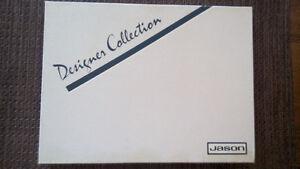 "placemats JASON brand (6); ""fleur"" pattern Designer Collection"