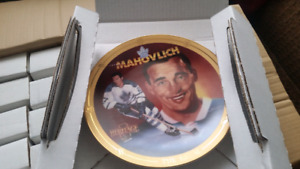 Legends Of Hockey's Golden Era Collection Plates