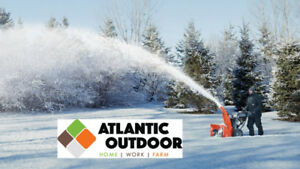 Get a new Ariens or Husqvarna Snowblower from Atlantic Outdoor!