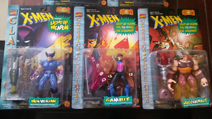 Set of 5 X-Men action figures