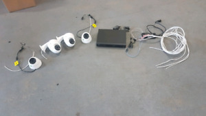 4 camera wired security camera system