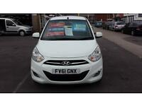 2011 HYUNDAI I10 1.2 Active Automatic 5 Door From GBP4,495 + Retail Package