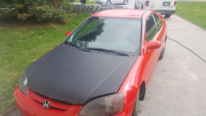 2001 Honda civic clean no rust