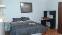 Quiet Large room in basement 650/mo Thickwood Private entrance