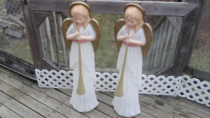 Outdoor Christmas Angels