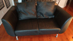 IKEA Leather Couch for Sale at an AMAZING price!