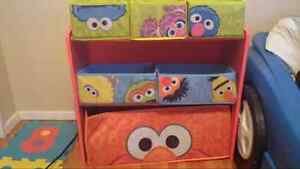 Elmo organizer and 2 curtain pannels Windsor Region Ontario image 1