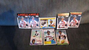 Rod Carew MLB cards(8)