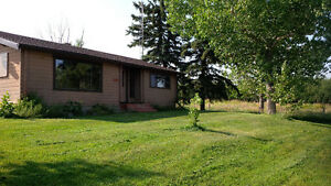 4 acres with Log Cabin house for rent