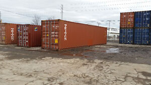 On Sale Shipping and Storage Containers - Excellent Shape