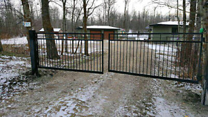 Driveway Gate Special with Opener