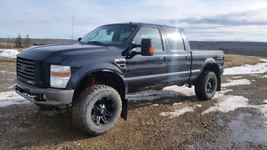 2009 F350  chipped lifted and powerful