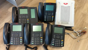 Used Avaya Nortel BCM50 phone systems (With 5 PHONES) for sale.