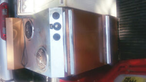 110v stove, good for cabin or camp